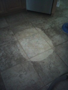 Do you think my TIle floor needs cleaning